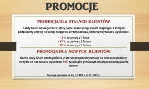 Promocja dla klientów