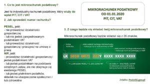 Mikrorachunek podatkowy od 01.01.2020